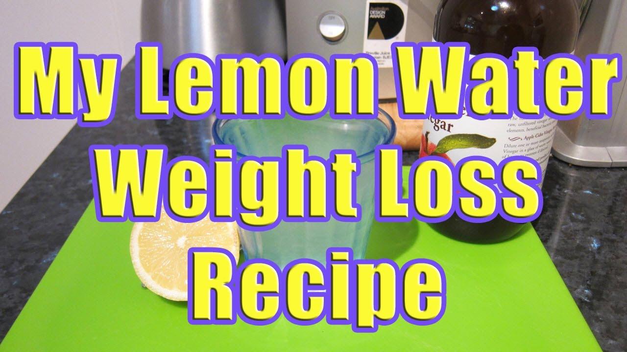 Use My Lemon Water Weight Loss Recipe in a Lemon Water ...