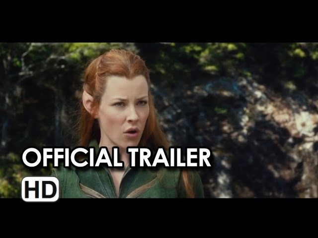 The Hobbit: The Desolation of Smaug Official Trailer #2 (2013)