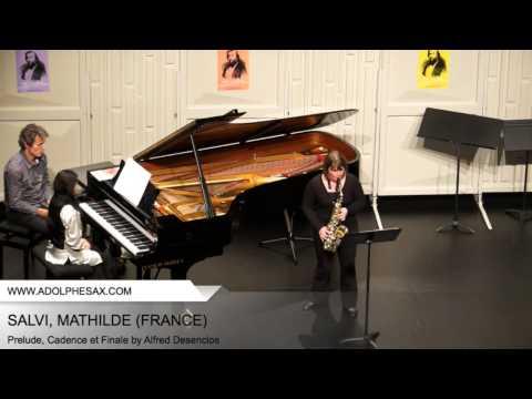 Dinant 2014 – SALVI Mathilde (Prelude, Cadence et Finale by Alfred Desenclos)