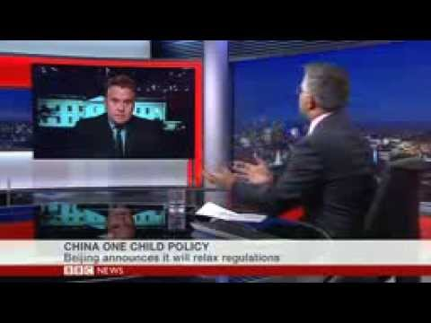 Rep. Smith On BBC on the Revision of China's One Child Policy