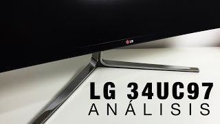 LG 34UC97, análisis