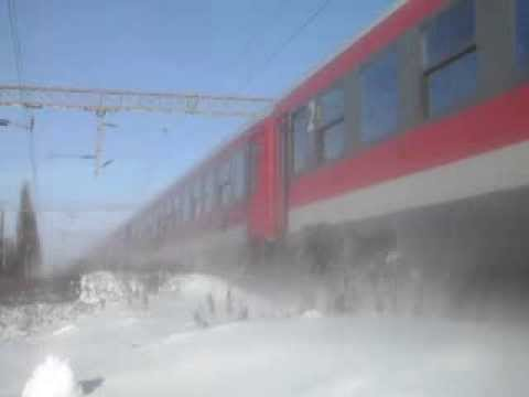 Trenuri/Trains on M500 ©Sabaoani 2014 Winter Edition