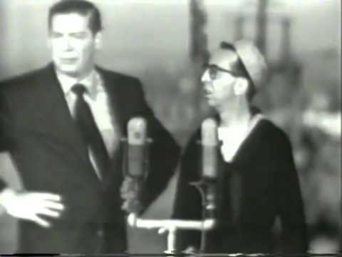 VINTAGE 1956 SKIT - MILTON BERLE & ARNOLD STANG (CHUNKY CANDY COMMERCIALS & T.C. FROM TOP CAT)