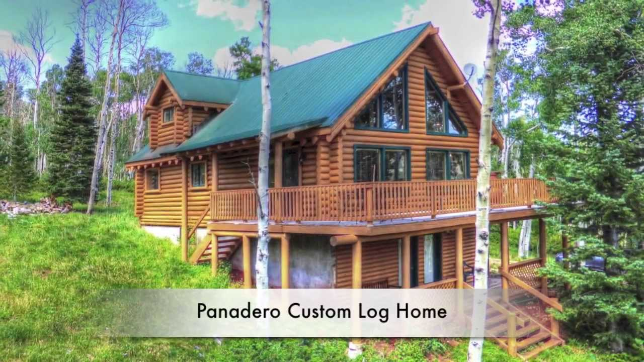 Panadero Log Home In Cuchara Colorado For Sale Youtube