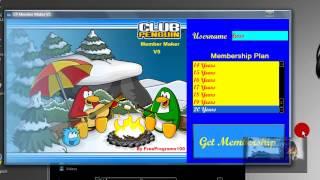 Hack De Membresia Para Club Penguin 2013 100% Real