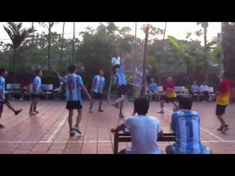 Vô địch bóng chuyền hơi Ba Làng - Quế Nham - Tân Yên - Bắc Giang