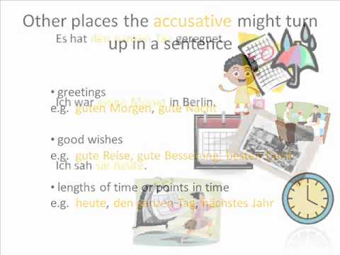 Accusative Case: What Are the Direct Object Pronouns in ...