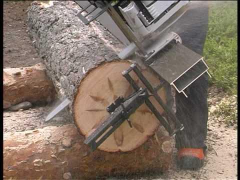 Chainsaw Sawmill Youtube
