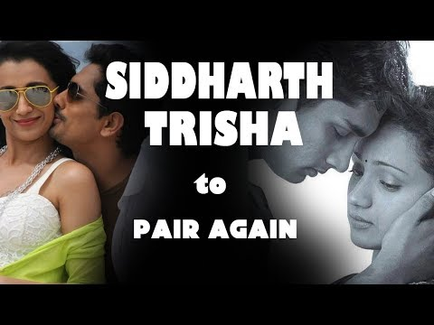 Siddharth, Trisha To Pair Again - Cinema News - VJSindhuja - CinebillaTV