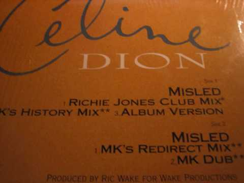 Celine Dion - Misled (MK Dub)