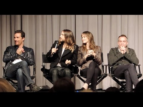 Matthew McConaughey, Jared Leto, Jennifer Garner Dallas Buyers Club Q&A