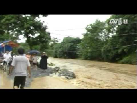 VTC14_Lào Cai xuất hiện lũ, nguy cơ sạt lở đất cao_10.07.2013