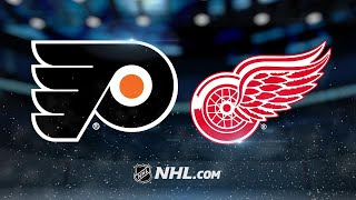 Konecny, Flyers top Red Wings in overtime, 3-2