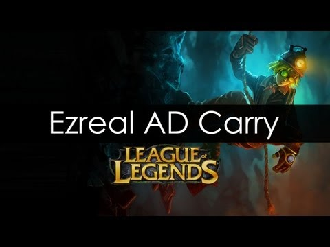 League of Legends - Ezreal AD Gameplay - January 2013 - HD