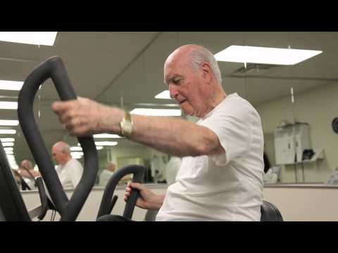 Fit at any age! 90-year-old man with Parkinson's gives workout tips. Cyber-Seniors Corner
