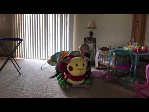 Ladybug rocking chair