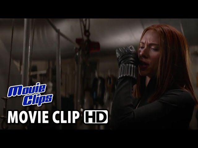 Captain America: The Winter Soldier CLIP 3 - Engine Room Secure (2014) HD