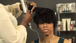 How To Style Short Hair For Black Women : Hair Care