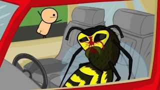 The Cyanide & Happiness Show - S01E01 - A Day At The Beach (magyar felirattal - HUN SUB)