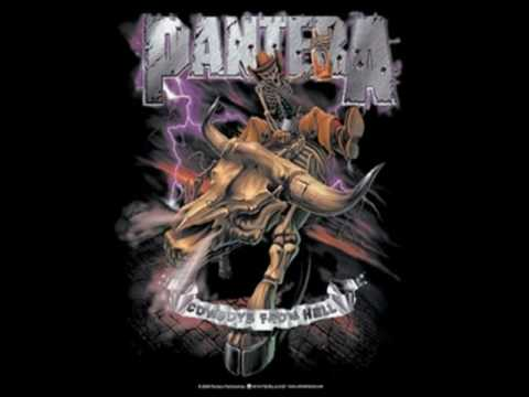 pantera cowboys from hell youtube
