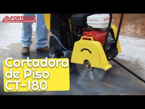 Cortadora de Piso Concreto Asfalto Honda 13 HP Fortemac Máquinas Construção (16) 3524-2080