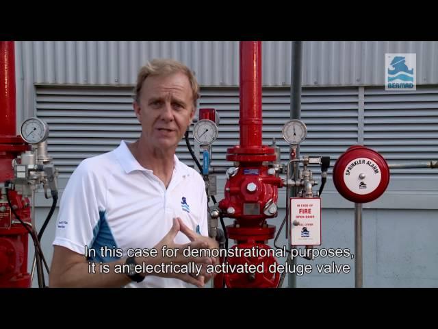 Torrente BERMAD 400Y – Válvulas de dilúvio de controle de pressão