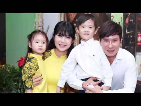 Gia đình Lý Hải - Minh Hà diện đồ ton sur ton rồng rắn tham gia sự kiện