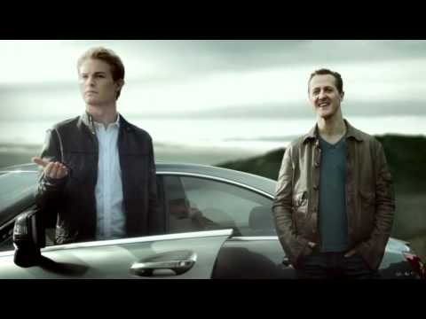 "EN: Nico Rosberg and Michael Schumacher Formula One Mercedes-Benz Commercial ""Decision"""