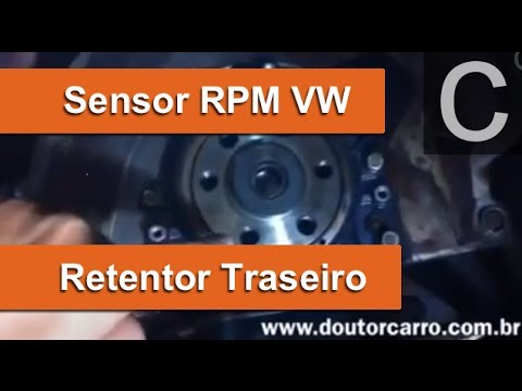 Dr CARRO RETENTOR com SENSOR RPM VW