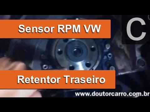 Dr CARRO RETENTOR com SENSOR RPM VW