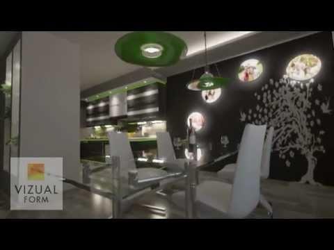 Projekt Wn Trza Kuchni Po Czonej Z Jadalni I Salonem Meble Kuchenne Design Kitchen Ideas Youtube