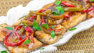 Sweet and Sour Mahi Mahi by Panlasangpinoy.Com