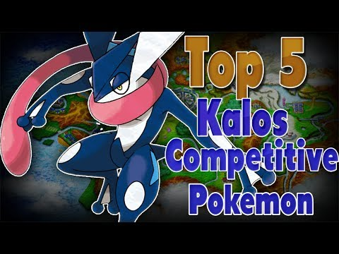 Top 5 Best Kalos Competitive Pokemon