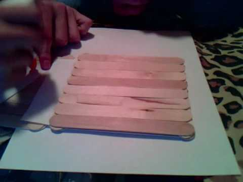 how to build a stable bridgle out of popsicle