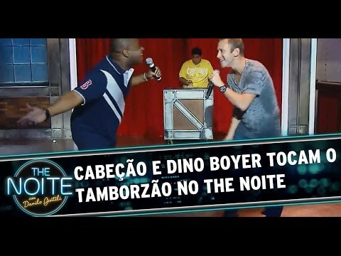 Cabeção e Dino Boyer cantam funk no The Noite
