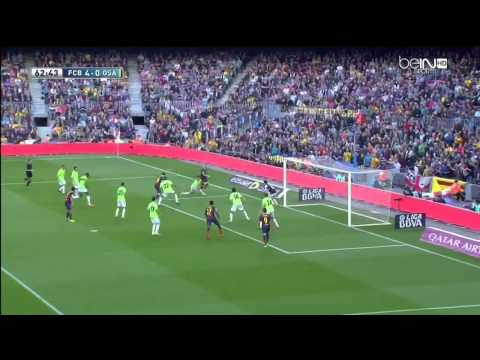 Barcelona - Osasuna Highlights HD 16.03.2014