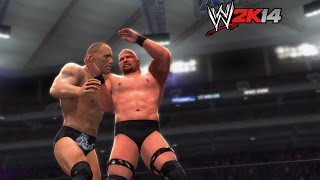 """WWE 2K14"" How-To: ""Stone Cold"" Steve Austin Vs. The Rock"