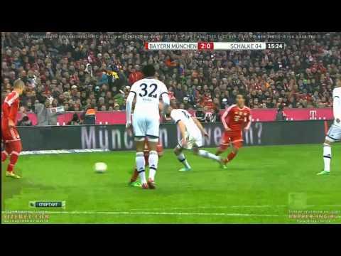Bayern Munich 5 - 1 FC Schalke 04| [01 03 2014] Resumen