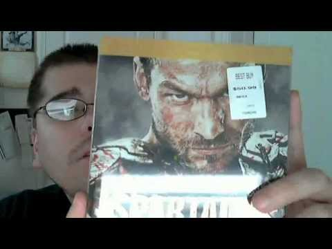 Spartacus Blood And Sand (Season 1) Blu-Ray Unboxing