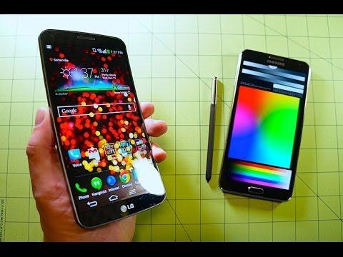 LG G Flex vs Note 3