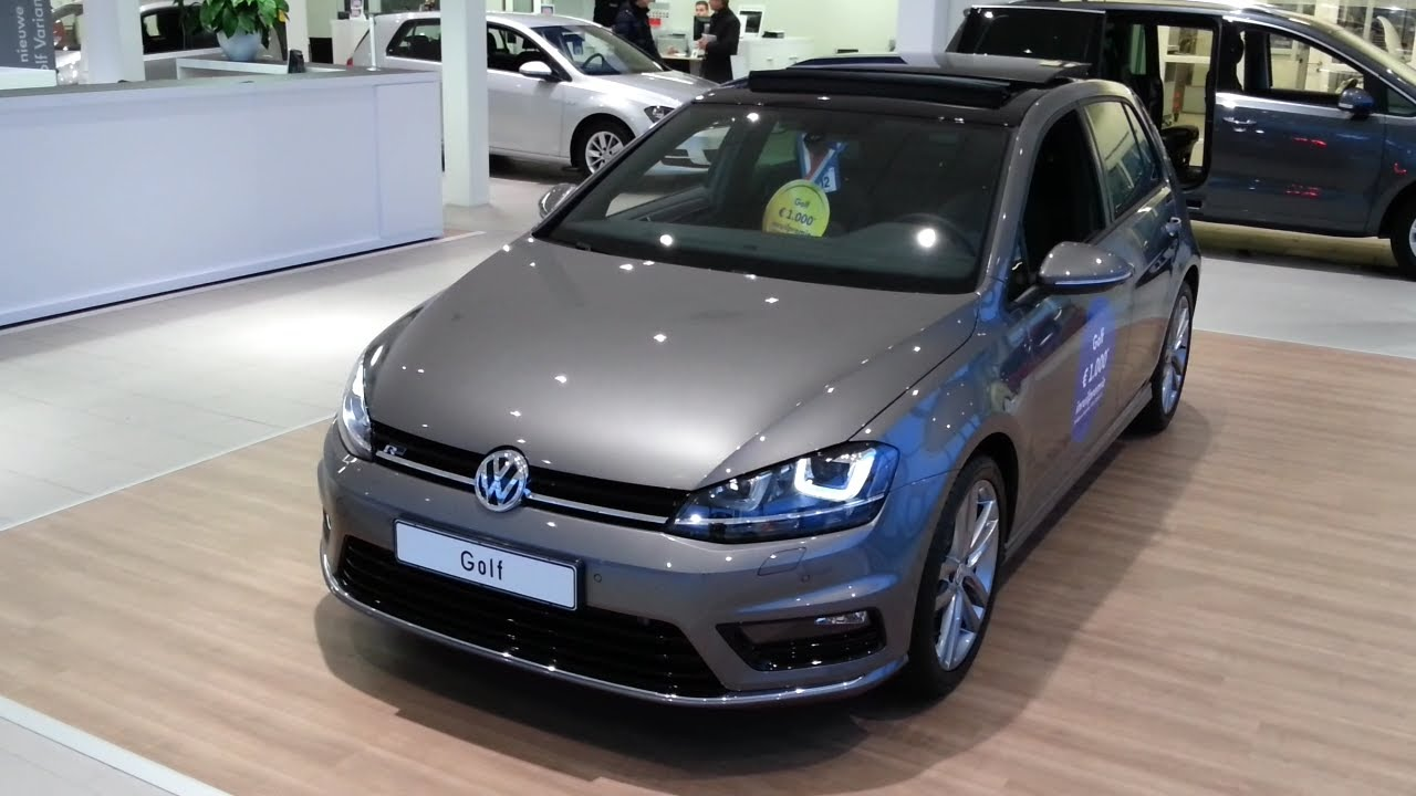 volkswagen golf 7 r line 2015 in depth review interior exterior youtube. Black Bedroom Furniture Sets. Home Design Ideas