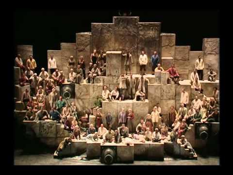 威尔第verdi歌剧纳布科nabucco第三幕:希伯来奴隶合唱 Chorus Of The Hebrew Slaves