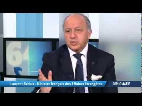 Laurent Fabius: Ministre des affaires étrangères en France