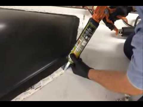 How To Re Seal An Rv Roof At See Grins Rv Repair In Gilroy