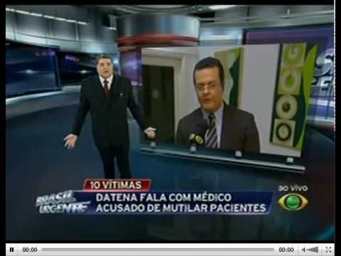 Datena reclama de peitos de fora e vai para o intervalo comercial - Brasil Urgente 20/03/13