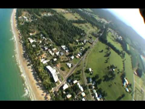 Skydiving at Mission Beach