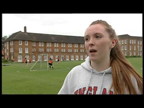 England call-up for Lacrosse teenager