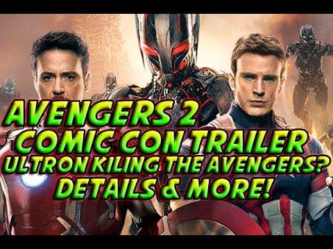 Avengers 2: Comic Con Trailer Review! + Ultron Broke Captain Americas Shield & More!