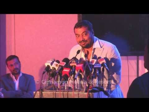 Anurag Kashyap at Bombay Velvet press at Cinnamon Grand Colombo