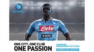 Presentazione della Campagna Abbonamenti SSC Napoli 2019/2020